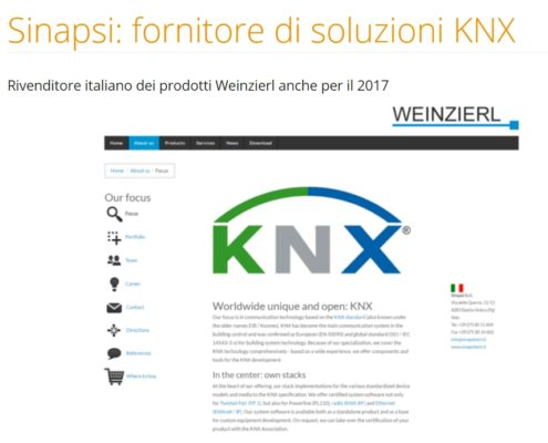 domotica-KNX-home automation system